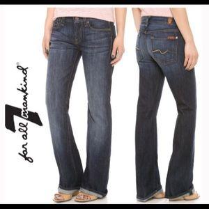 7 Seven For All Man Kind Flip Flop Jeans